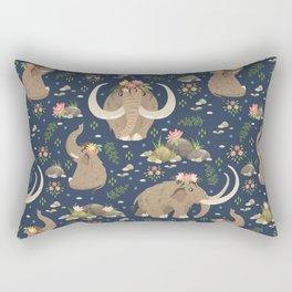 Cute mammoths Rectangular Pillow