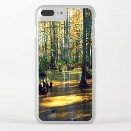 Cache River Wetlands Clear iPhone Case