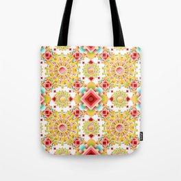 Fiesta Sunburst Tote Bag