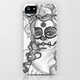 Mexican Girl iPhone Case