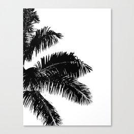 Minimal Palm Print Canvas Print