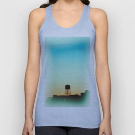 New York Rooftop Unisex Tank Top