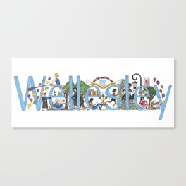 Wellesley College by Stephanie Hessler '84 Canvas Print