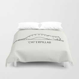 Cat-erpillar Duvet Cover