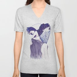 Wings Of An Eagle Unisex V-Neck