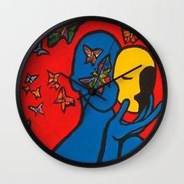 SKIN DEEP  (ORIGINAL SOLD)  #Society6  #decor  #buyart Wall Clock