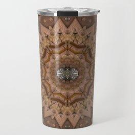 peace on earth in leather Travel Mug