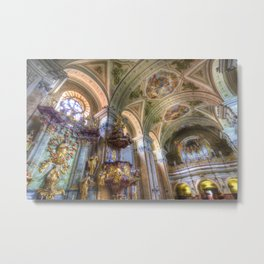 Tihany Benedictine Abbey Metal Print