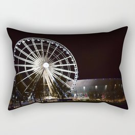 Liverpool By Night Rectangular Pillow