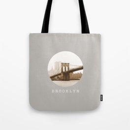 BROOKLYN / new york city / nyc Tote Bag
