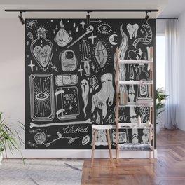 BLACK MAGIC Wall Mural