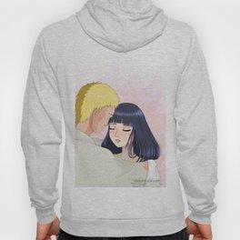 Naruto and Hinata - Fanart Hoody