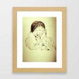 miss wong Framed Art Print