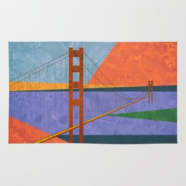 Golden Gate Bridge II Rug