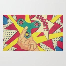 Lichtenstein Fidget Spinner Rug