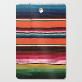 BEAUTIFUL MEXICAN SERAPE Cutting Board