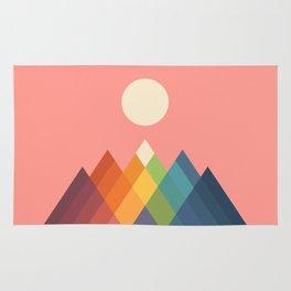 Rainbow Peak Rug