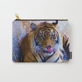Sumatran Tiger at the LA Zoo Carry-All Pouch