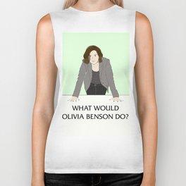 What Would Olivia Benson Do? Biker Tank