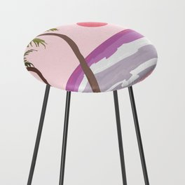 Tropical Landscape 01 Counter Stool