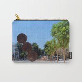 Tel Aviv photo - Habima Square - Israel Carry-All Pouch