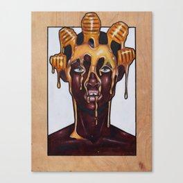 Honey dip Canvas Print