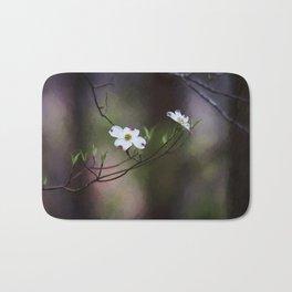Spring Dogwood Blooms Bath Mat