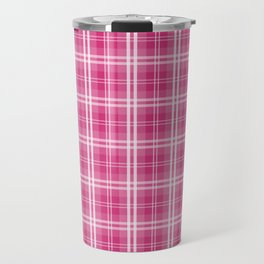 Spring 2017 Designer Color Spring Yarrow Tartan Plaid Check Travel Mug