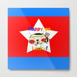 Happy Go Lucky Metal Print