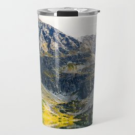 Tatry Poland Mountain Lake Reflections Travel Mug