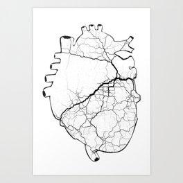 iheartLAX Art Print