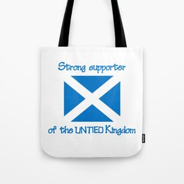 Supporter of the UNTIED Kingdom Tote Bag