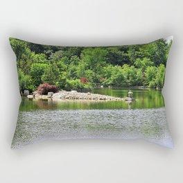 Breaking Down My Defenses Rectangular Pillow