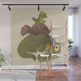 Swamp Squad Wall Mural