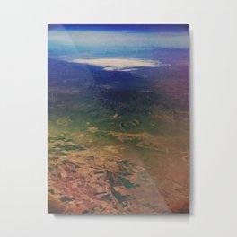White Sands Aerial  Metal Print