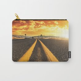 oregon road at dusk Carry-All Pouch