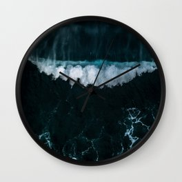 Wave in Motion - Ocean Photography Wall Clock