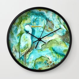 In The Moment Wall Clock