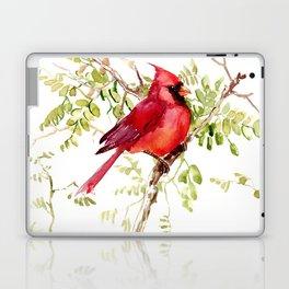 Northern Cardinal Laptop & iPad Skin