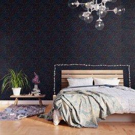 Black Light Color Spray Wallpaper