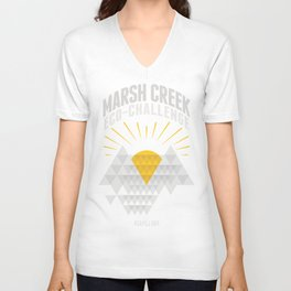 Marsh Creek Eco-Challenge 2015; Shirt Art Unisex V-Neck