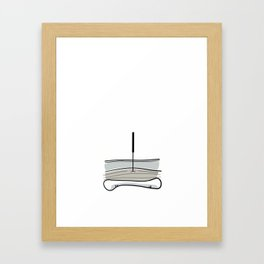 Acupuncture - Peaceful Framed Art Print