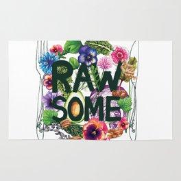 Rawsome - Plant Power Rug