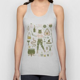 The Witch Unisex Tank Top
