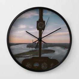 viewer's eye Wall Clock
