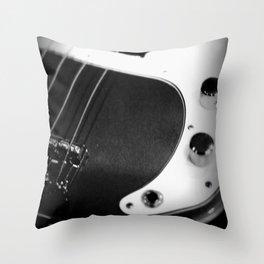Bass Guitar - I Throw Pillow