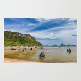 Fishing Boats Thailand Rug