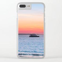 Sunset at the Beach in Darwin, Australia Clear iPhone Case