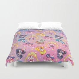Chibi Sailor Moon Crystal Pattern Duvet Cover