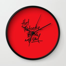 Hot Patootie Wall Clock